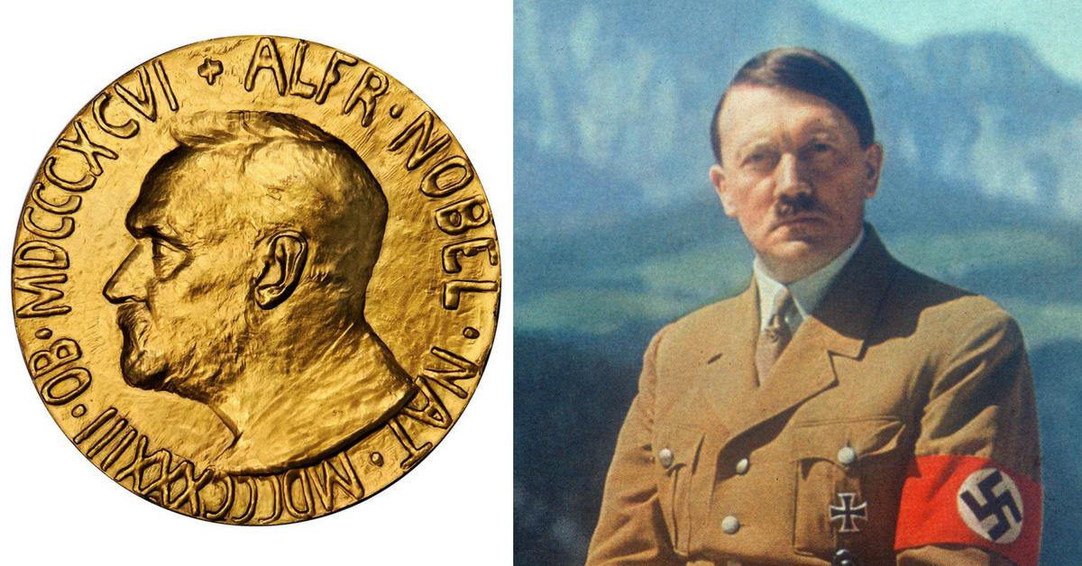 آدولف هیتلر و جایزه صلح نوبل
