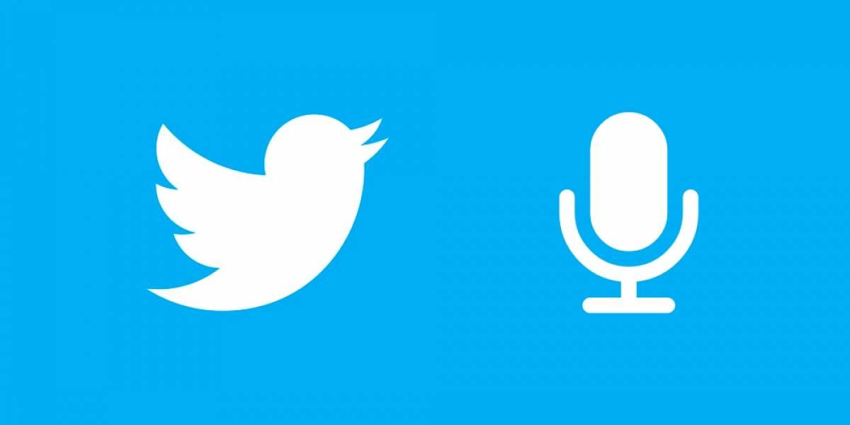 توییتر با قابلیت پشتیبانی از پخش زنده صوتی