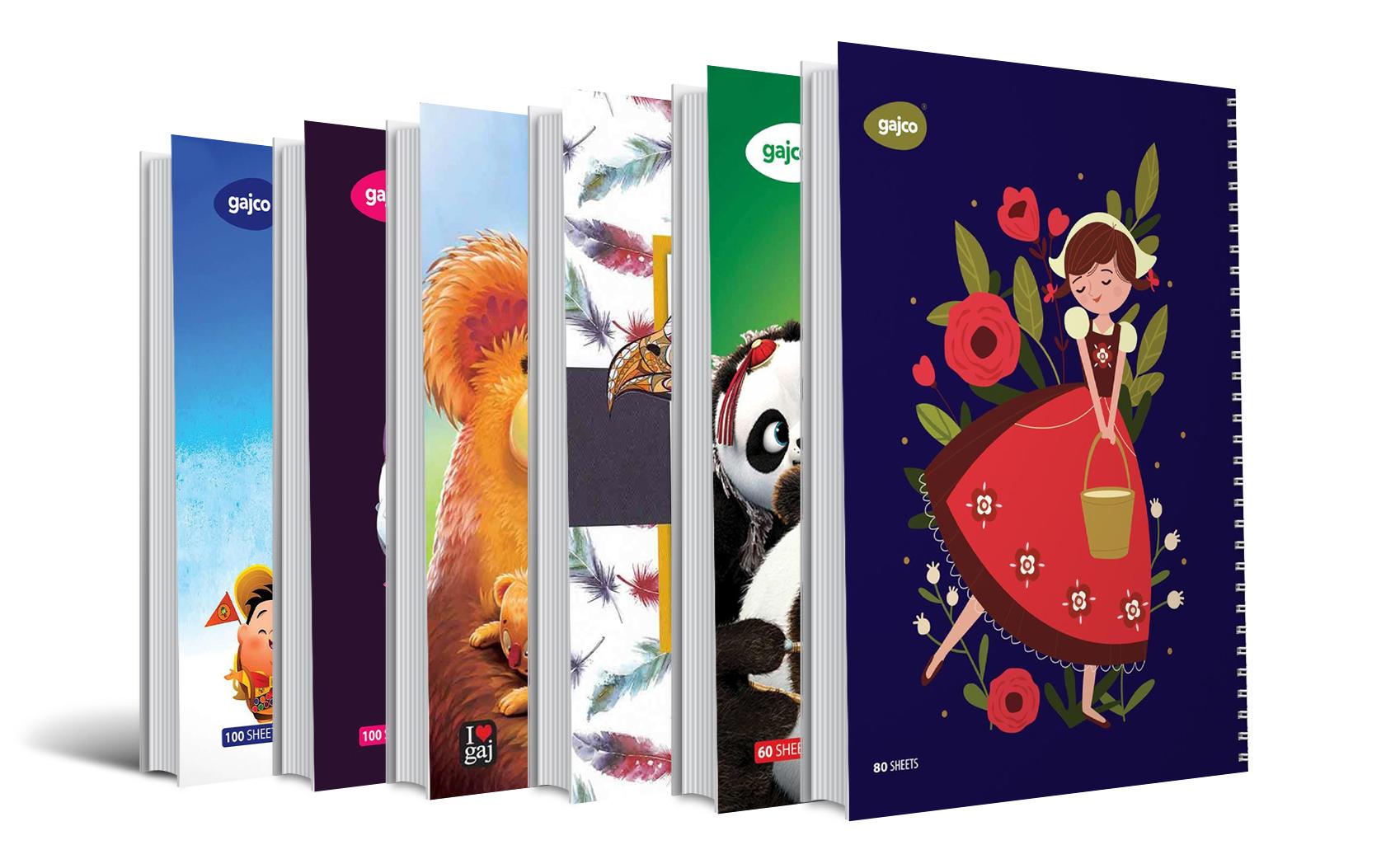 دفترهای شکلاتی و خوش بو گاجکو
