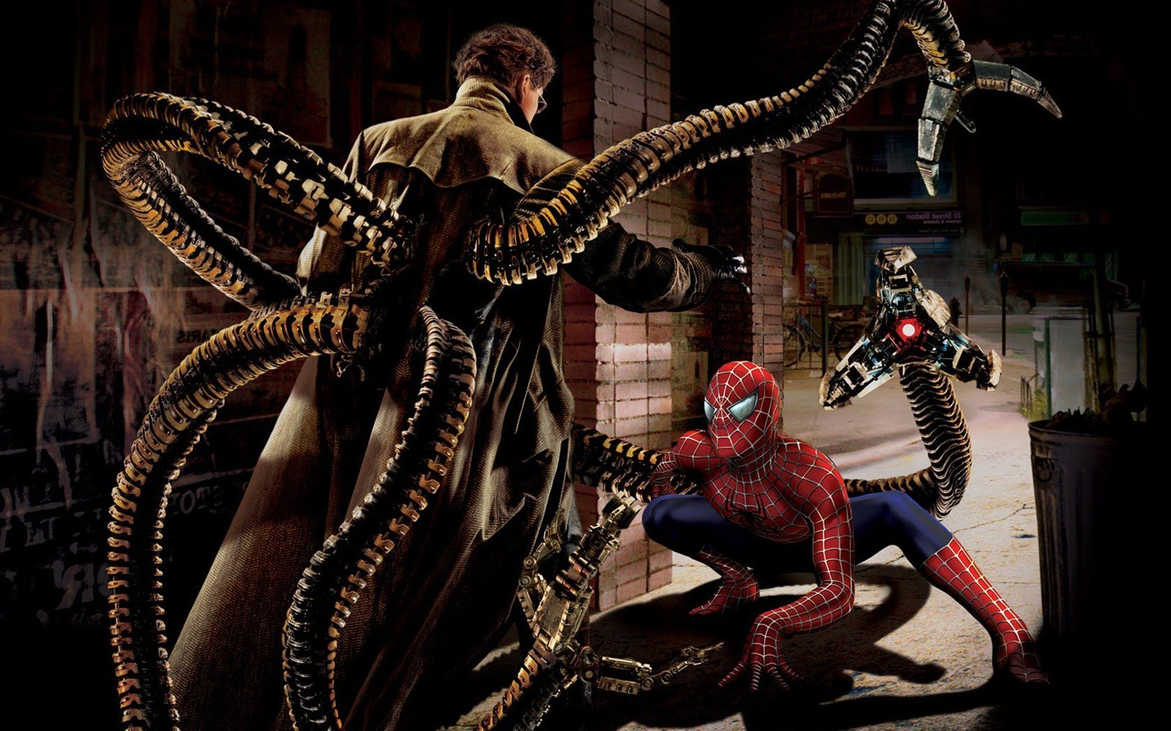 (Spiderman 2 (2004